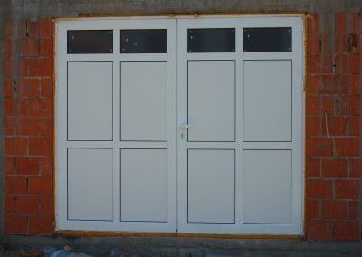 aluminijumska dvokrilna vrata