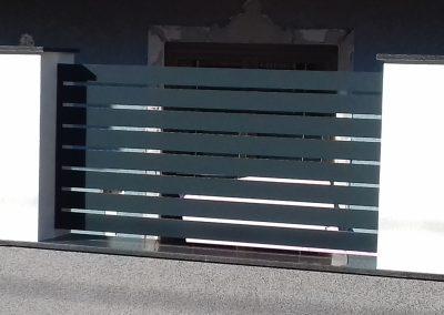 aluminijumska klizna kapija -antracit 2