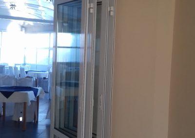 aluminijumska preklopna vrata 2
