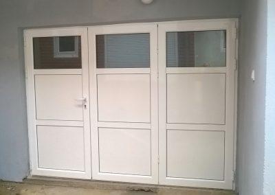 aluminijumska preklopna vrata