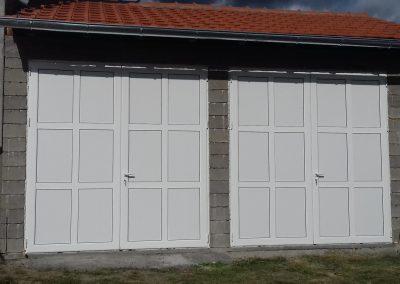 dvokrilna garazna vrata