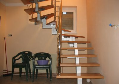 samonosece stepenice metal-drvo
