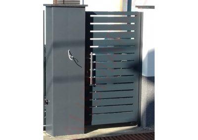 Aluminijumska kapija H10-02