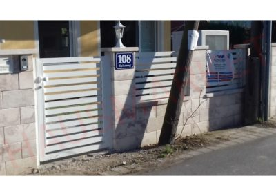Aluminijumska kapija H6-02 (Wien)