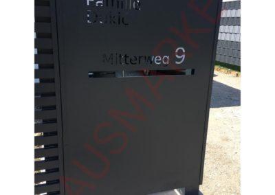 Aluminijumska ograda H4-02 (Wien)