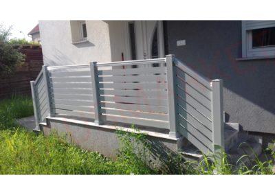 Aluminijumska ograda H8-04