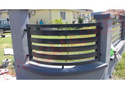 Aluminijumska ograda HR-03 (Kladovo)