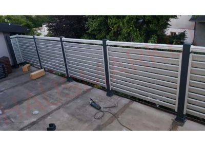 Aluminijumska ograda K8-06 (Wien)