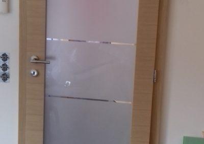 staklena sobna vrata 012